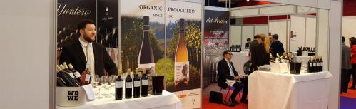 Bodegas Yuntero en la World Bulk Wine Exhibition 2019
